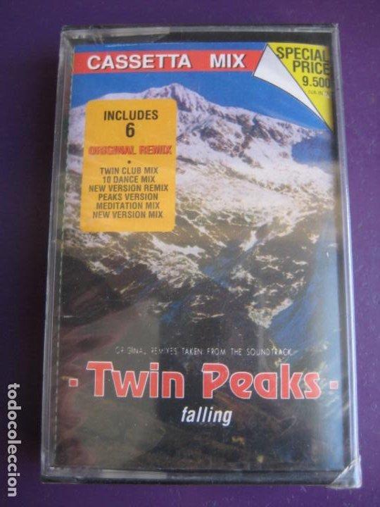 TWIN PEAKS (FALLING) CASETE DISCOMAGIC 1991 PRECINTADA - 6 VERSIONES HOUSE MIX - BADALAMENTI (Música - Casetes)