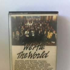 Casetes antiguos: WE ARE THE WORLD - USA FOR AFRICA. Lote 187581093