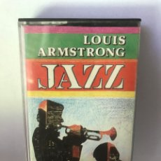 Casetes antiguos: LOUIS ARMSTRONG - JAZZ. Lote 187599228