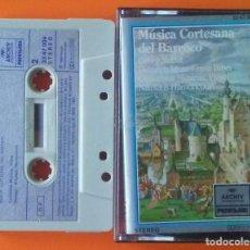 Casetes antiguos: MUSICA CORTESANA DEL BARROCO POLYDOR 1981. Lote 188622547