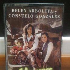 Casetes antiguos: BELEN ARBOLEYA CONSUELO GONZALEZ MANZANES Y CLAVELES ASTURIAS CASETE CASSETTE . Lote 189122771