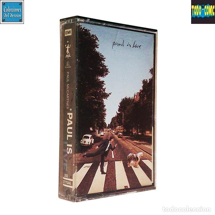 PAUL IS LIVE / PAUL MCCARTNEY / CINTA CASETE CASSETTE / PARLOPHONE MPL 93 (DOLBY SYSTEM) PRECINTADO (Música - Casetes)