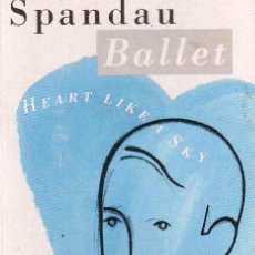 Casetes antiguos: SPANDAU BALLET – HEART LIKE A SKY. Lote 189656198