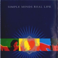 Casetes antiguos: SIMPLE MINDS – REAL LIFE. Lote 189677412