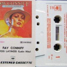 Casetes antiguos: RAY CONNIFF - EXITOS LATINOS. Lote 189904052