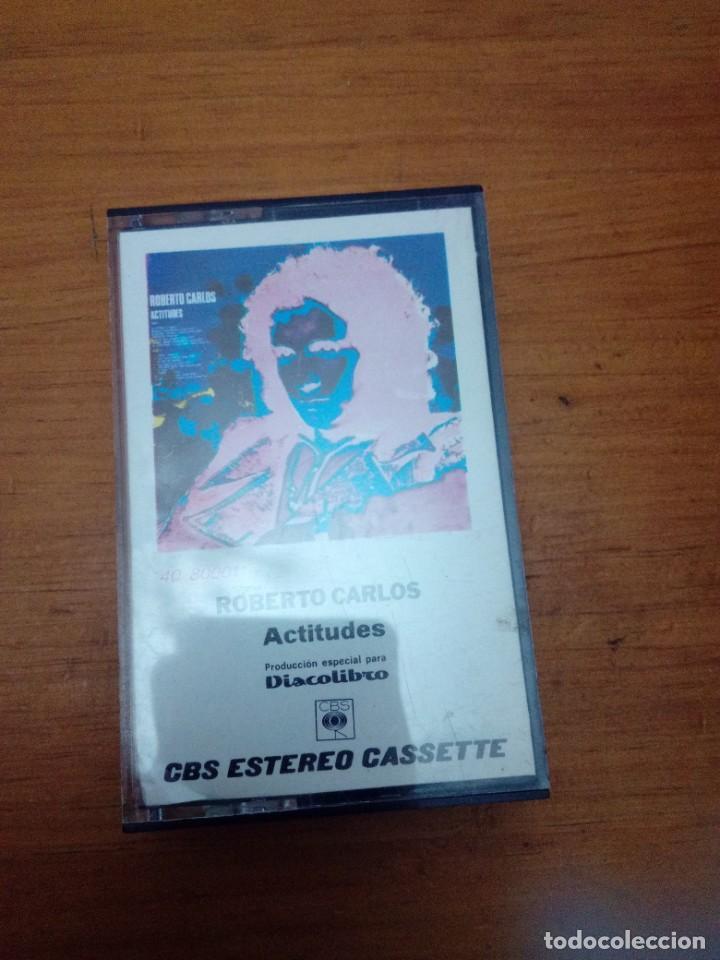 ROBERTO CARLOS. ACTITUDES. C6F (Música - Casetes)