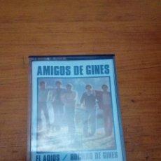 Casetes antiguos: AMIGOS DE GINES. EL ADIOS. ROCIERO DE GINES.-.. C6F. Lote 190452193