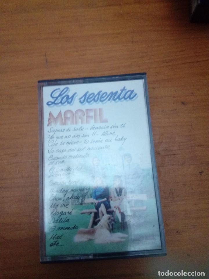 LOS SESENTA MARFIL. C6F (Música - Casetes)