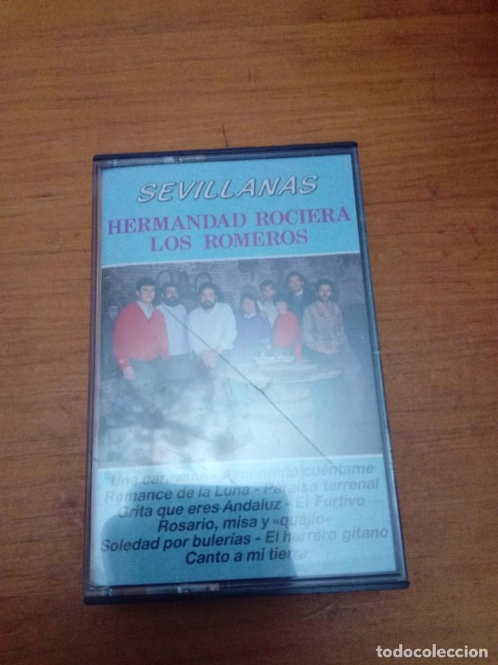 SEVILLANAS. HERMANDAD ROCIERA LOS ROMEROS. C6F (Música - Casetes)