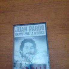 Casetes antiguos: JUAN PARDO. BRAVO POR LA MUSICA. C6F. Lote 190463157