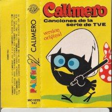 Cassetes antigas: PARCHIS 92 - CALIMERO (CASSETTE PERFIL 1990). Lote 190576810