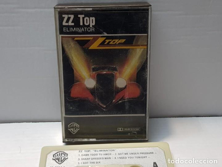 CASSETTE-ZZ TOP-ELIMINATOR EN FUNDA ORIGINAL AÑO 1985 (Música - Casetes)