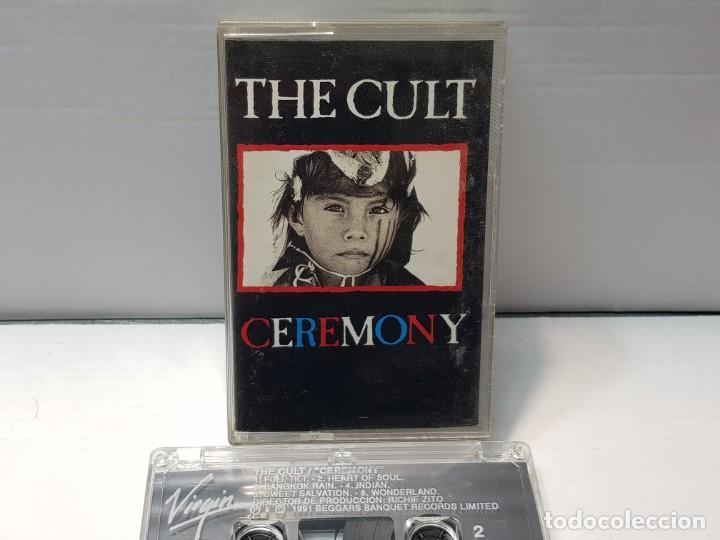 CASSETTE-THE CULT-CEREMONY EN FUNDA ORIGINAL AÑO 1991 (Música - Casetes)