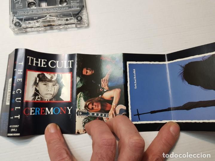 Casetes antiguos: Cassette-THE CULT-CEREMONY en funda original año 1991 - Foto 2 - 190597537