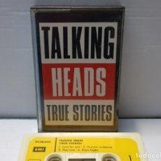 Casetes antiguos: CASSETTE-TALKING HEADS-TRUE STORIES EN FUNDA ORIGINAL AÑO 1986. Lote 190597608