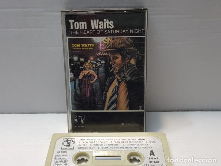 CASSETTE-TOM WAITS-THE HEART OF SATURDAY NIGHT EN FUNDA ORIGINAL AÑO 1984 (Música - Casetes)