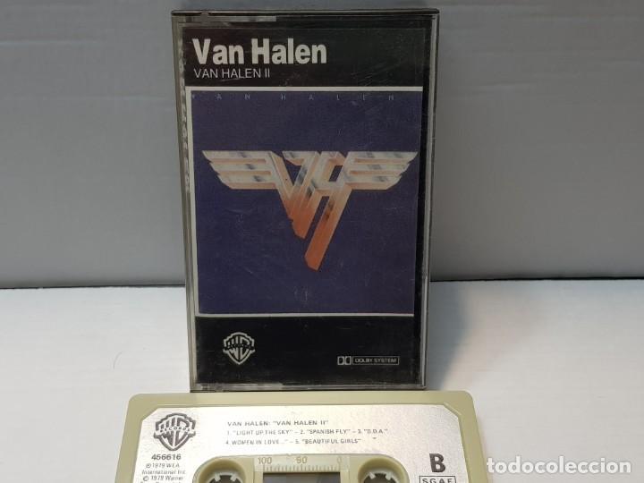 CASSETTE-VAN HALEN-VAN HALEN II EN FUNDA ORIGINAL AÑO 1979 (Música - Casetes)