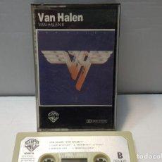 Casetes antiguos: CASSETTE-VAN HALEN-VAN HALEN II EN FUNDA ORIGINAL AÑO 1979. Lote 190599652