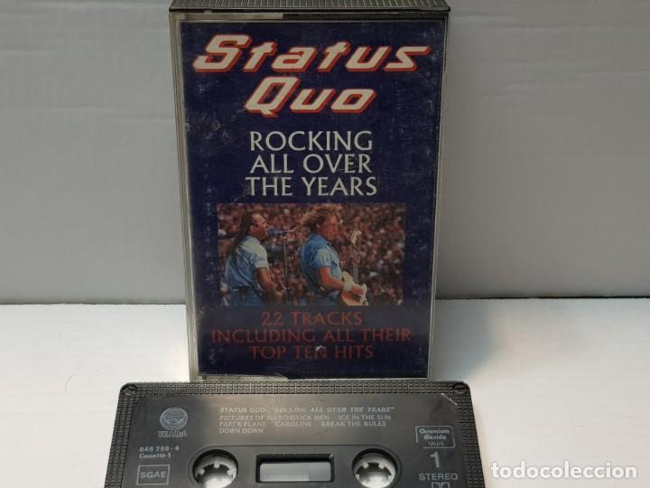 CASSETTE-STATUS QUO-ROCKING ALL OVER THE YEARS EN FUNDA ORIGINAL AÑO 1991 (Música - Casetes)