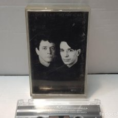 Casetes antiguos: CASSETTE-LOU REED/JOHN CALE-SONGS FOR DRELLA EN FUNDA ORIGINAL AÑO 1990. Lote 190601176