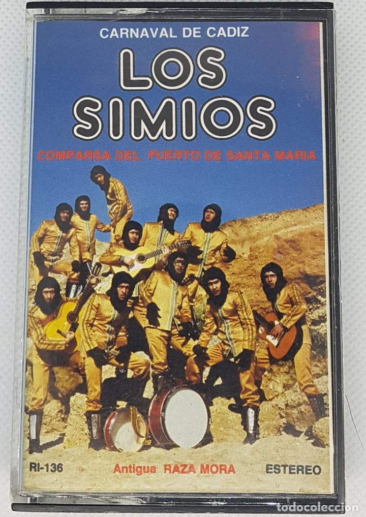 CARNAVALES DE CADIZ-LOS SIMIOS (Música - Casetes)