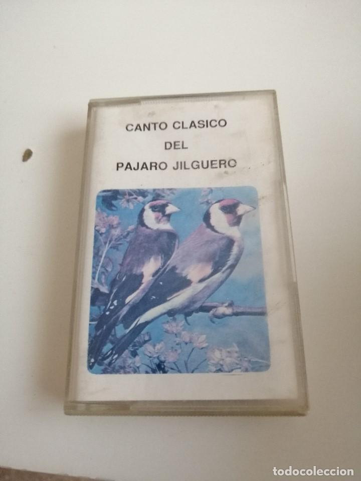 G-1 CASETE MUSICA CANTO CLASICO DEL PAJARO JILGUERO (Música - Casetes)