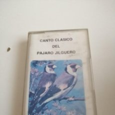 Casetes antiguos: G-1 CASETE MUSICA CANTO CLASICO DEL PAJARO JILGUERO. Lote 218708032