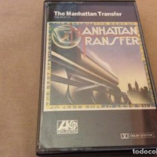 Casetes antiguos: THE MANHATTAN TRANSFER. THE BEST OF THE MANHATTAN TRANSFER. . Lote 191339095