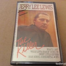 Casetes antiguos: JERRY LEE LEWIS. THE KILLER. . Lote 191339430
