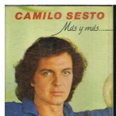 Casetes antiguos: CAMILO SESTO - MAS Y MAS ... - CASETE 1981. Lote 191342085