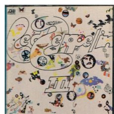 Casetes antiguos: LED ZEPPELIN - LED ZEPPELIN III - CASETE 1971 - BUEN ESTADO. Lote 191780233