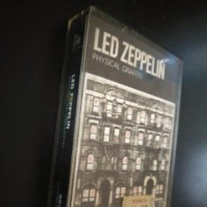 Casetes antiguos: LED ZEPPELIN PHYSICAL GRAFFITI (1975). 1A EDICIÓN INGLESA .DOUBLE PLAY DURACION. BUSCADA. SK489400 .. Lote 192153487