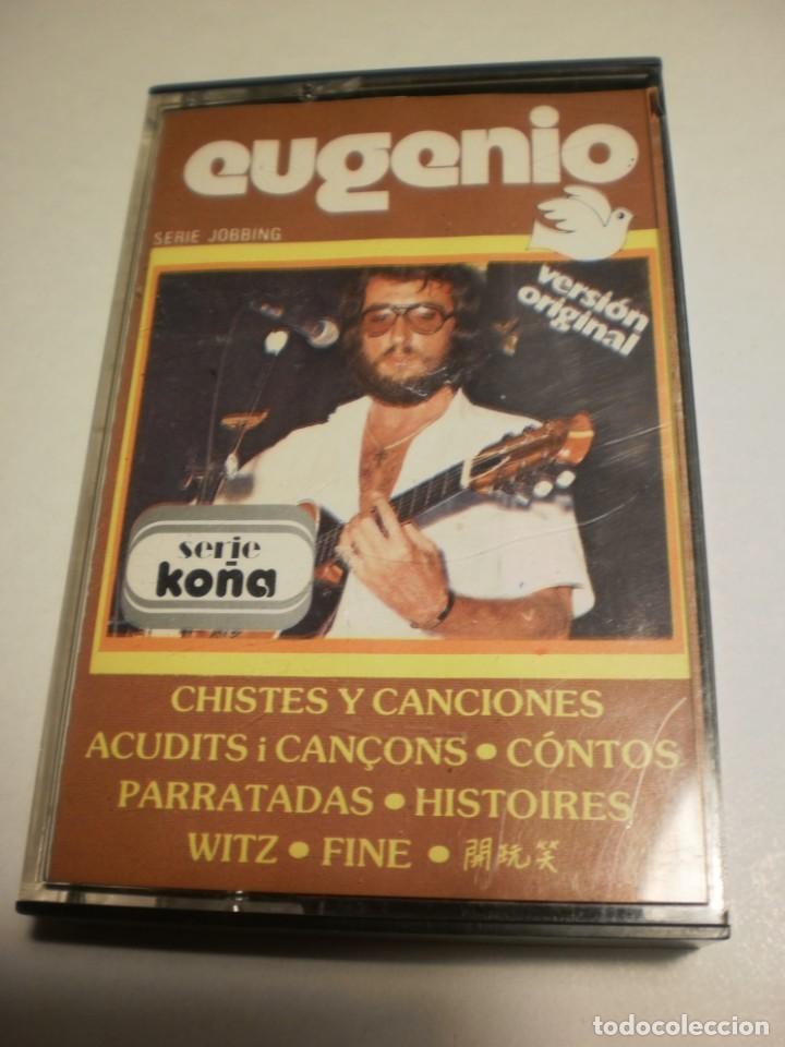 CINTA, CASETE, CASSETTE. EUGENIO CHISTES Y CANCIONES EM 1979 SPAIN (ESTADO NORMAL) (Música - Casetes)