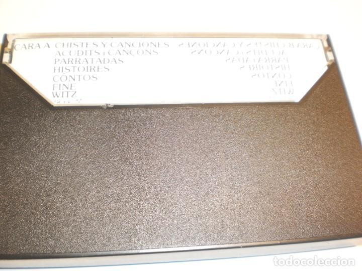 Casetes antiguos: cinta, casete, cassette. eugenio chistes y canciones em 1979 spain (estado normal) - Foto 2 - 193009845