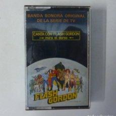 Cassetes antigas: FLASH GORDON // BANDA SONORA ORIGINAL DE LA SERIE DE TV // 1980 // CASETE. Lote 193207005
