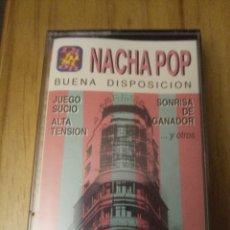 Casetes antiguos: NACHA POP ANTONIO VEGA BUENA DISPOSICIÓN FORMATO CASETE NUEVO, SIN ABRIR CON PLÁSTICO ORIGINAL. Lote 193966932