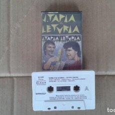 Casetes antiguos: TAPIA ETA LETURIA - JO ETA HAUTSI CASSETTE 1987. Lote 194201938