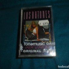 Casetes antiguos: LOS RATONES ¿QUE QUEREIS ? FONOMUSIC, 1988. SPAIN. CASETE PRECINTADO (#). Lote 194223215