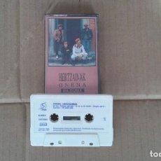 Casetes antiguos: HERTZAINAK - ONENA CASSETTE 1991. Lote 194239438