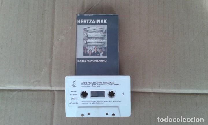 HERTZAINAK - AMETS PREFABRIKATUAK CASSETTE 1989 (Música - Casetes)