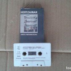 Casetes antiguos: HERTZAINAK - AMETS PREFABRIKATUAK CASSETTE 1989. Lote 194240387
