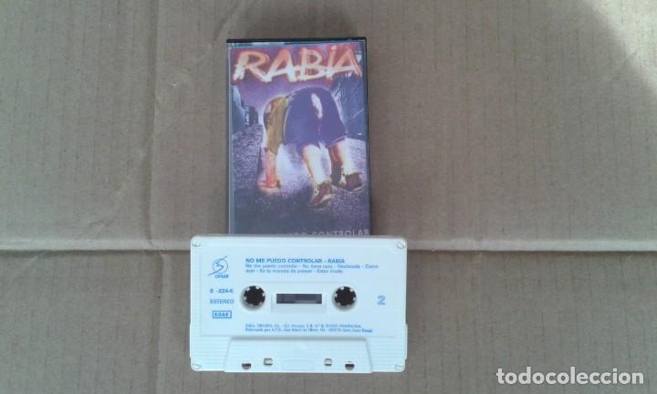 RABIA - NO ME PUEDO CONTROLAR CASSETTE 1992 PUNK ROCK (Música - Casetes)