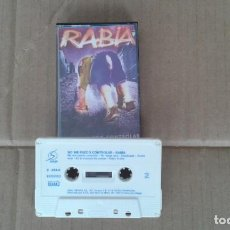 Casetes antiguos: RABIA - NO ME PUEDO CONTROLAR CASSETTE 1992 PUNK ROCK. Lote 194243248