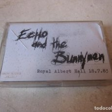 Casetes antiguos: ECHO AND THE BUNNYMEN LIVE ROYAL ALBERT HALL LONDON 18/07/83 CASETE. Lote 194257028