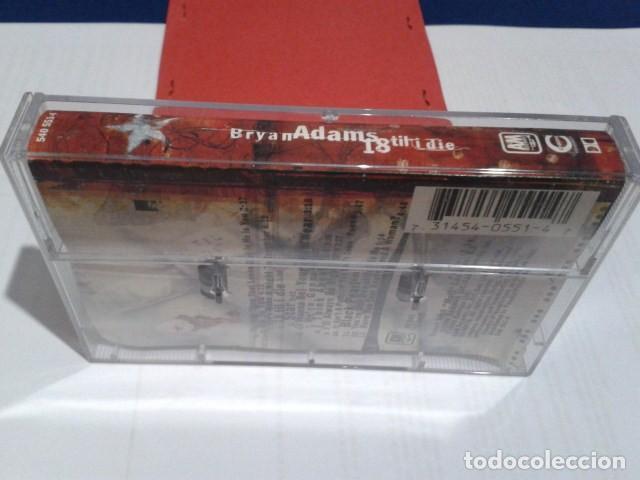 Casetes antiguos: CASETE CINTA CASSETTE ( BRYAN ADAMS - 18 TIL I DIE ) A&M RECORDS 1996 - Foto 2 - 194351673