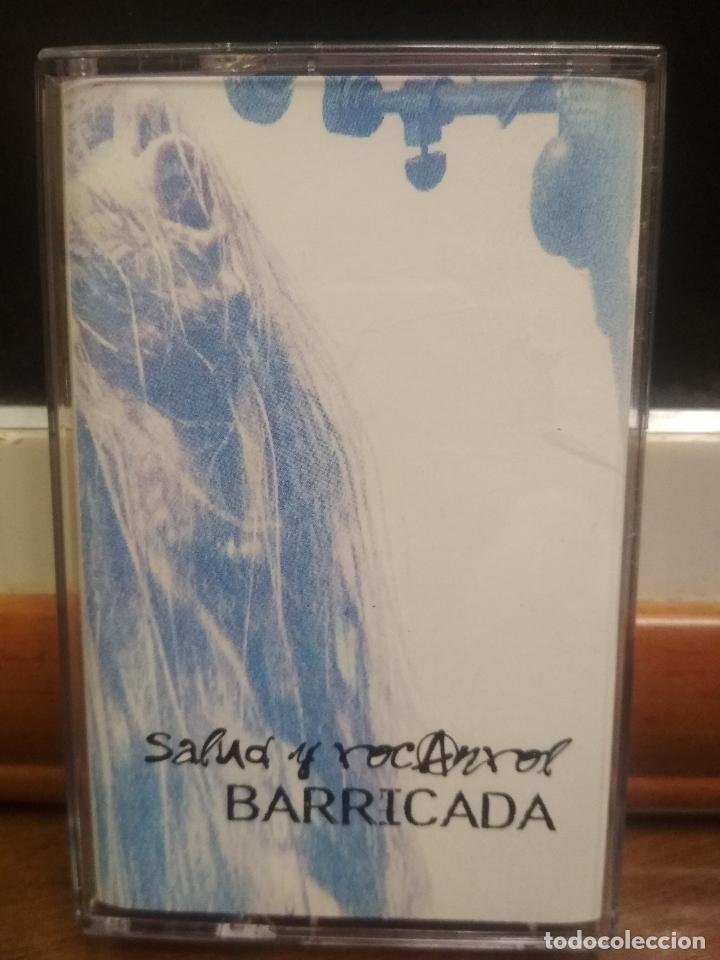 BARRICADA - SALUD Y ROCANROL CASSETTE CASETE 1997 RARO RECOPILATORIO - EL DROGAS (Música - Casetes)