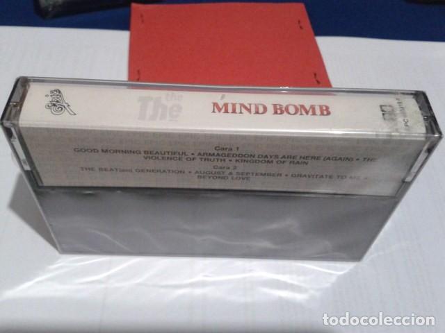 Casetes antiguos: CASETE CINTA CASSETTE ROCK ( The The - Mind Bomb Album) 1989 EPIC PRECINTADA NUEVA - Foto 2 - 194352470
