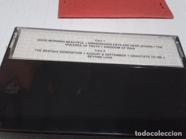 Casetes antiguos: CASETE CINTA CASSETTE ROCK ( The The - Mind Bomb Album) 1989 EPIC PRECINTADA NUEVA - Foto 3 - 194352470