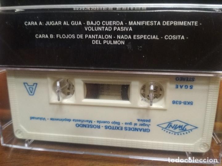 Casetes antiguos: ROSENDO - Grandes Éxitos. Año 1990. TWINS. casete cassette - Foto 2 - 194352802