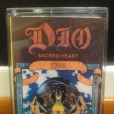 Casetes antiguos: DIO-SACRED HEART-1985-KING OF ROCK AND ROLL,HUNGRY FOR HEAVEN,FALLEN ANGELS,SHOOT SHOOT. Lote 194353505